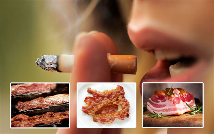 pork meat and cancer