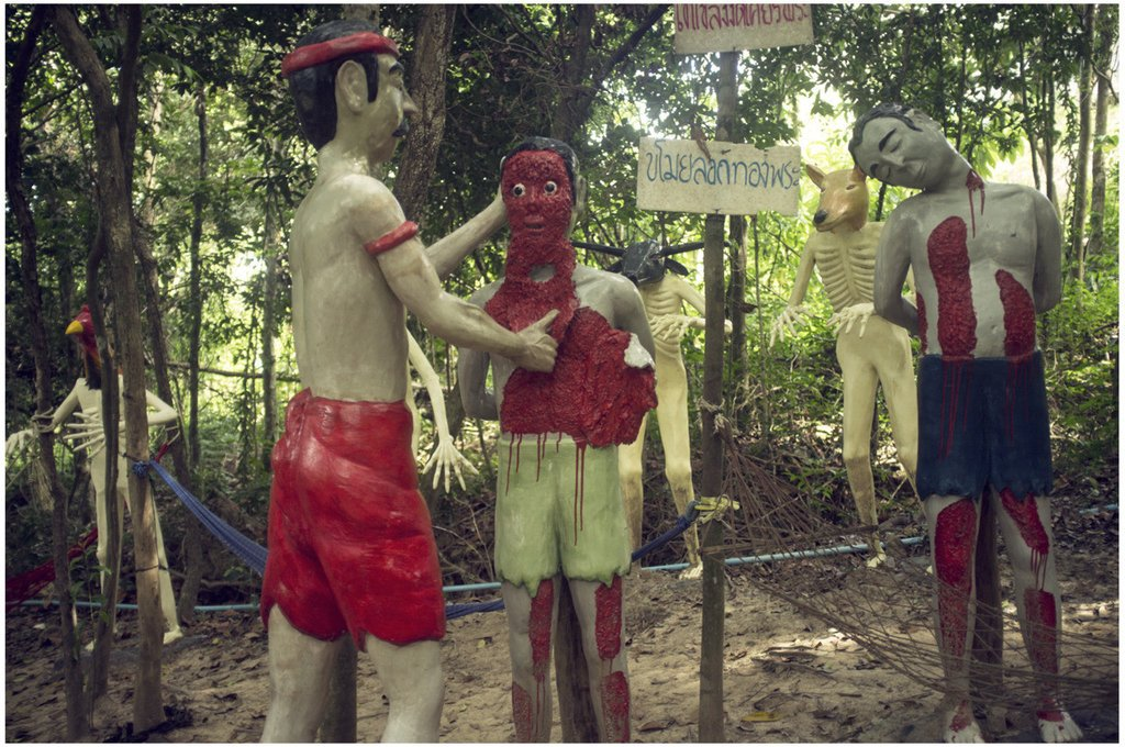 Wang Saen Suk Hell Buddhist Hell Garden in Thailand - TheNoChill (3)