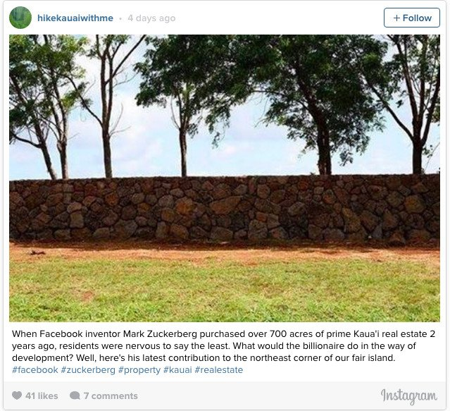 Facebook CEO Mark Zuckerberg Is Building A Giant Wall Around His Home