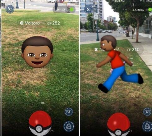 Pokemon Go app angers thousands after showing black Emoji being shot