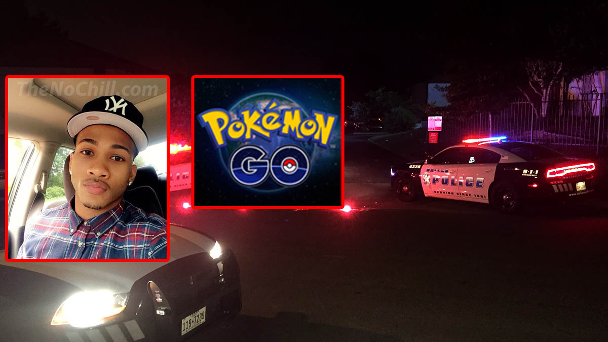 White Police Kills a Black Guy For Mistaking Him As A Robber While Playing Pokemon Go